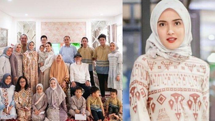Shandy Aulia Rayakan Lebaran Bersama Keluarga Sang Ayah, Ajarkan Toleransi Beragama untuk Putrinya