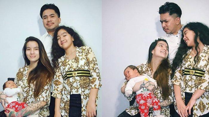 Sheila Marcia Rayakan Natal Sederhana, Intip Potret Kedekatan Leticia Charlotte dengan Ayah Tirinya