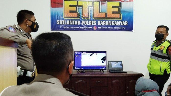 Polisi Karanganyar : Kena Tilang Elektronik Tapi Anggap Angin Lalu, Surat Kendaaran Siap Kena Blokir