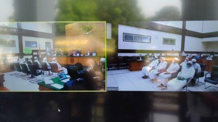 Sidang Lanjutan Kasus Kerumunan Habib Rizieq, Saksi Singgung BNPB, Sebut Dapat Puluhan Ribu Masker