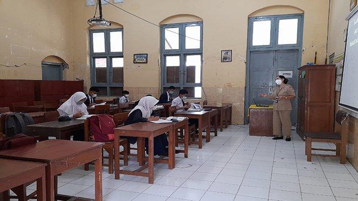 SMPN 1 Sragen Jadi Contoh Penerapan Pembelajaran Tatap Muka Tingkat Provinsi Jateng