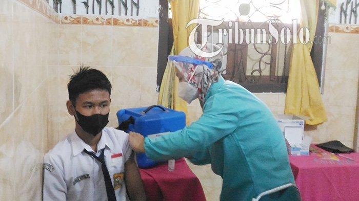 Jadwal Vaksinasi Siswa di Klaten 13 September : Ada 4 Ribu Dosis, Berikut Sekolah yang Akan Disasar