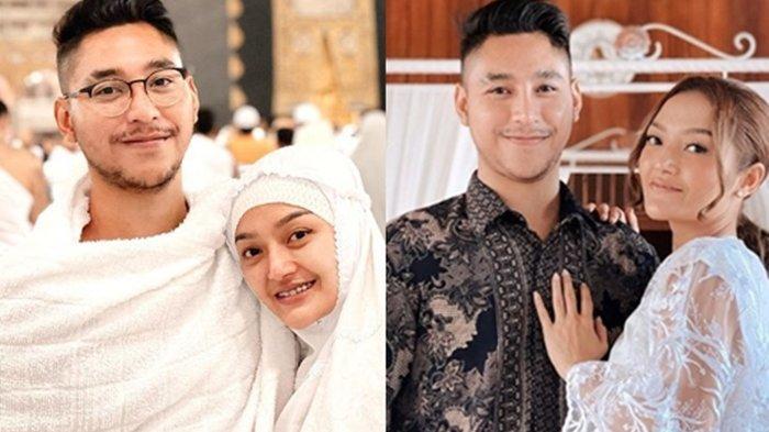 Siti Badriah dan suaminya, Krisjiana Baharudin