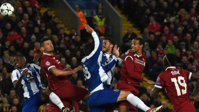 Jadwal Liga Champions Malam Ini, Duel Klub Inggris, Liverpool vs Porto, Tottenham vs Man City