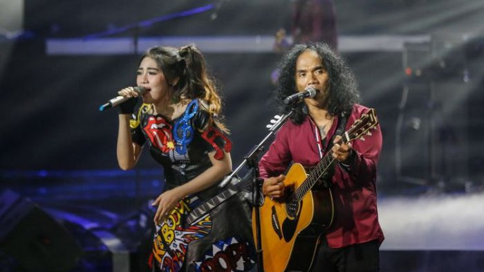 Tampil Bersama Via Vallen, Slank Mainkan Lagu Sayang