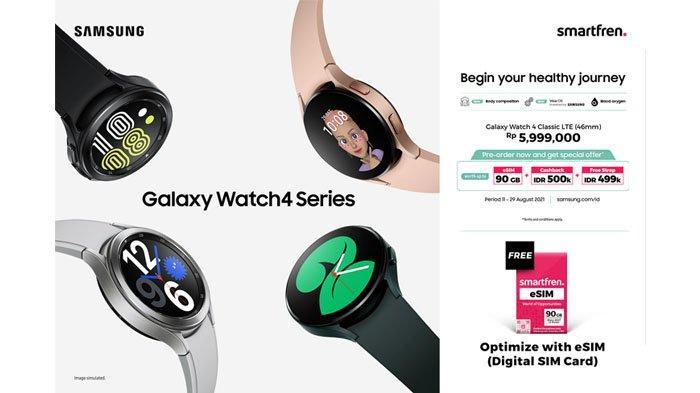Smartfren Rilis eSIM Pertama Smartwatch : Kini Smartwatch Tak Perlu Lagi Dekat Smartphone