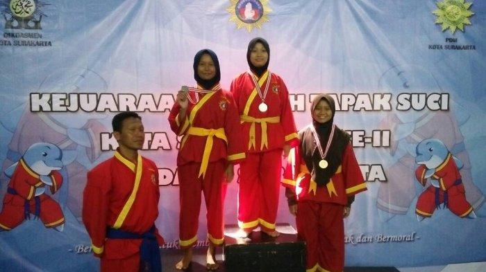SMP Muhammadiyah 1 Simpon Solo Raih Gelar Juara Kejurda Tapak Suci Ke-5 PDM