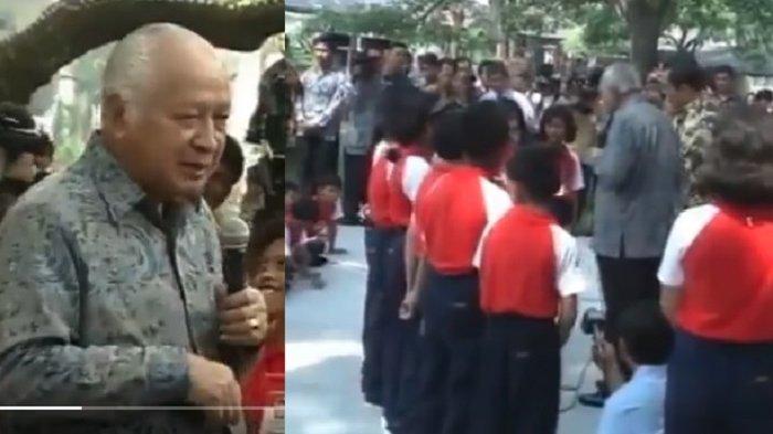 Video Peringatan Hari Anak di Era Soeharto Diunggah, Nasib Anak yang Ajukan Pertanyaan Jadi Sorotan