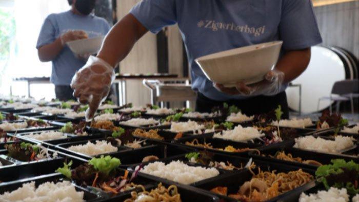 Solia Zigna Bagikan 1000 Paket Makanan untuk Masyarakat Kota Solo