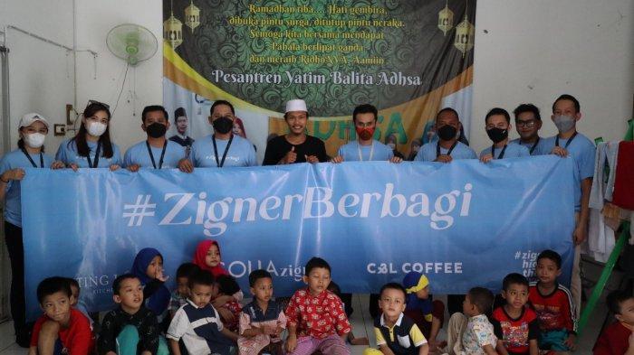Berbagi di Tengah Pandemi Covid-19, Solia Zigna Bagikan 1000 Paket Makanan untuk Masyarakat