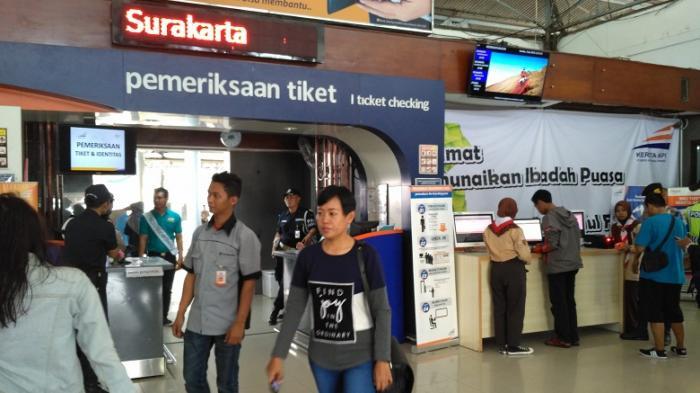 Tiket KA Tambahan Lebaran 2018 Laris Dipesan, BerikutInfo Ketersediaan Tiket Tujuan Solo Balapan