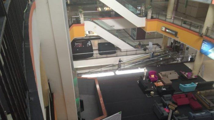 Penerapan PPKM Darurat, Suasana Mall di Kota Solo Ini Seperti Kota Mati