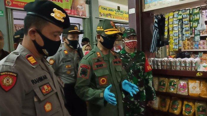 New Normal di Sukoharjo, Tak Pakai Masker, Pedagang dan Pengunjung Pasar Tak Boleh Masuk Pasar