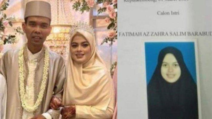 Seminggu Dinikahi Ustaz Abdul Somad, Penampilan Baru Fatimah Az Zahra Disorot, Banjir Doa dan Pujian
