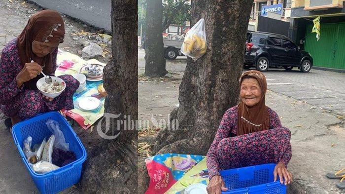 Meski 85 Tahun, Mbah Saryo Gigih Jual Barang Bekas & Buah di Solo, Jalan Hidupnya Banjir Doa Netizen