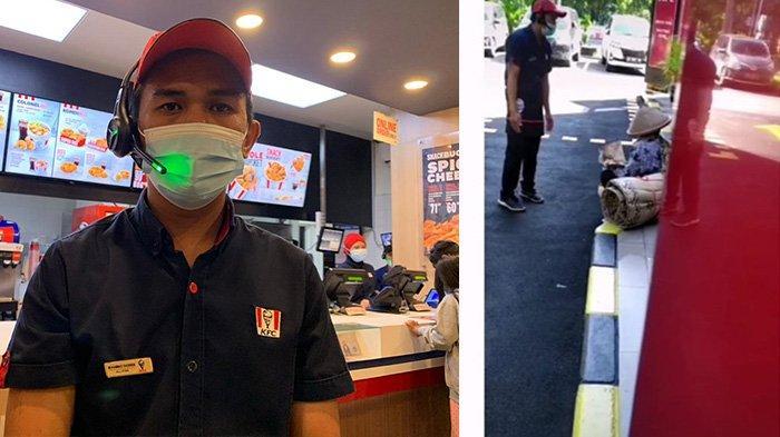 Viral di Medsos, Ini Sosok Muhammad Shobirin, Pengawai KFC Manahan yang Datangi Nenek Penjual Tikar