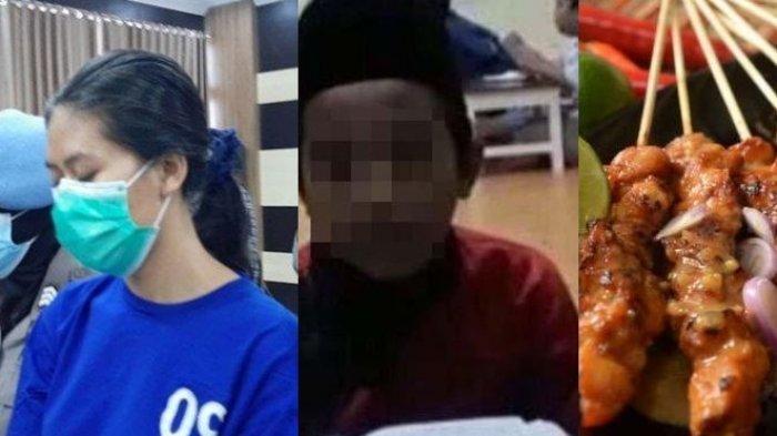 Sosok perempuan pengirim sate beracun yang tewaskan Naba, anak driver ojek online di Bantul.