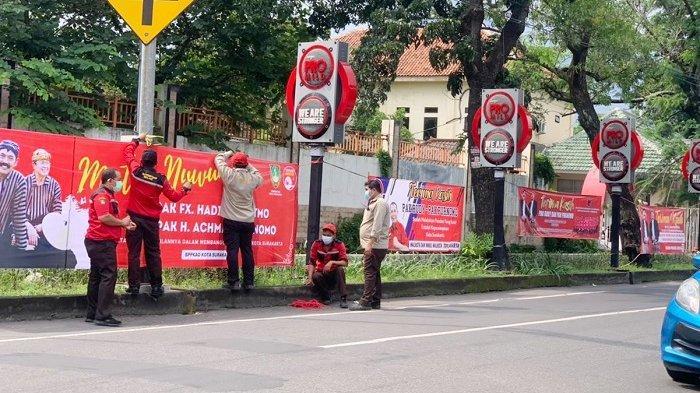 Jelang Masa Jabatan Wali Kota Habis, Spanduk FX Rudy-Purnomo Banjiri Solo, Begini Reaksinya
