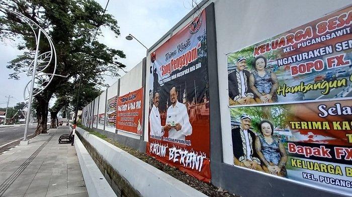 Kesaksian Warga, soal Ratusan Spanduk hingga Mural Banjiri Jalanan ke Rumah Wali Kota Solo FX Rudy
