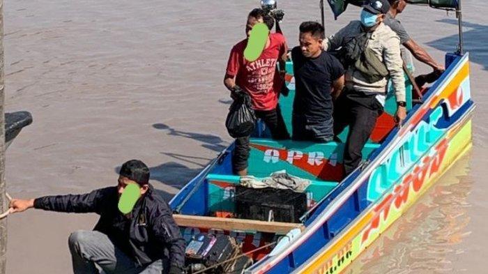 Gunakan Speedboat, Mertua dan Menantu Ditangkap saat Bawa Sabu Senilai Rp 3 Miliar Lewati Sungai