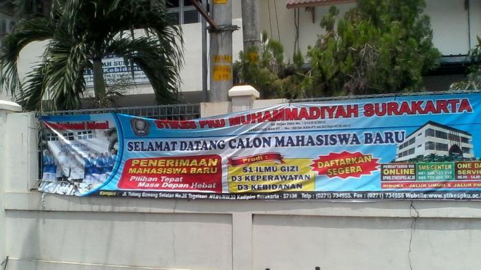 STIKES PKU Muhammadiyah Solo Buka Dua Jalur Penerimaan Mahasiswa Baru