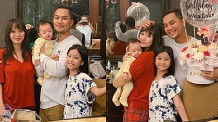 Suami Zaskia Gotik Bahagia Bareng Dua Putrinya, Cuek Dikomentari Unggah Foto Lagi Tidur Melulu