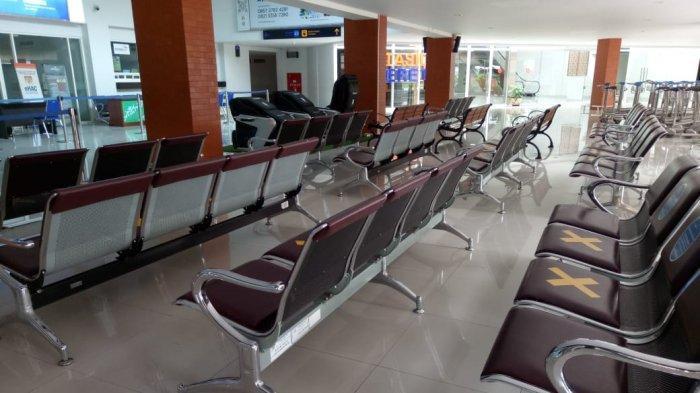 Bandara Adi Soemarmo Solo Masih Sepi di Jelang Pelaksanaan New Normal, Begini Penampakannya