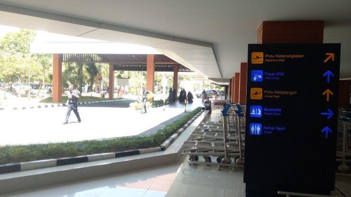 Jelang Persalinan Selvi, Jokowi Masih di Lampung, Suasana Bandara Adi Sumarmo Solo Normal