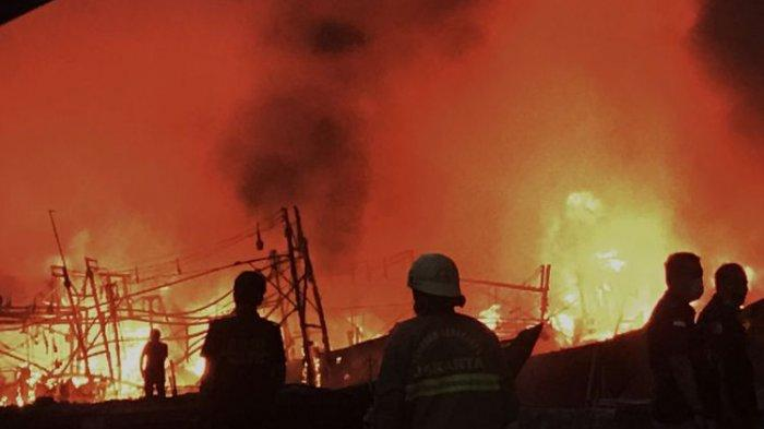 Kebakaran Pelabuhan Muara Baru Jakarta Utara, Polda Metro Jaya Periksa 12 Saksi