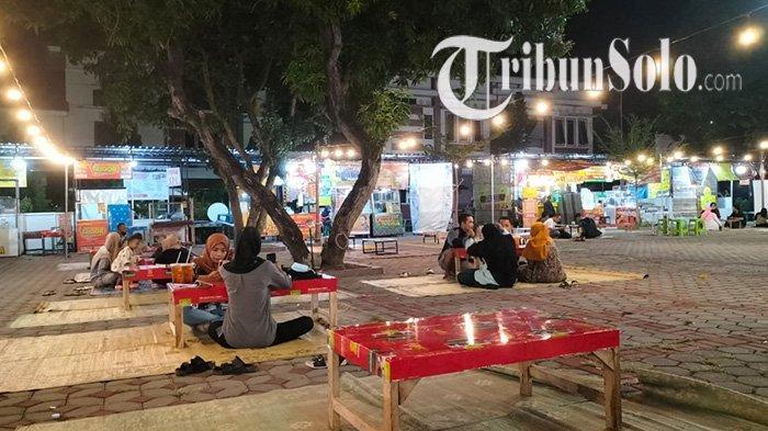 Cerianya PKL di Pusat Kuliner Kartini Sragen, Sempat Porak-poranda saat PPKM Darurat, Kini Buka Lagi