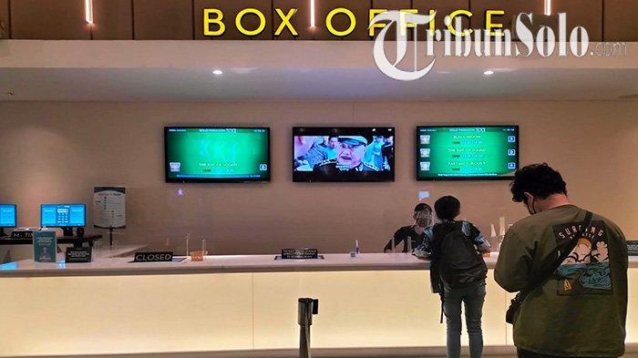 Hari Pertama Bioskop di Solo Dibuka, Pengunjung Masih Sepi, Padahal Film yang Diputar Jadi Incaran