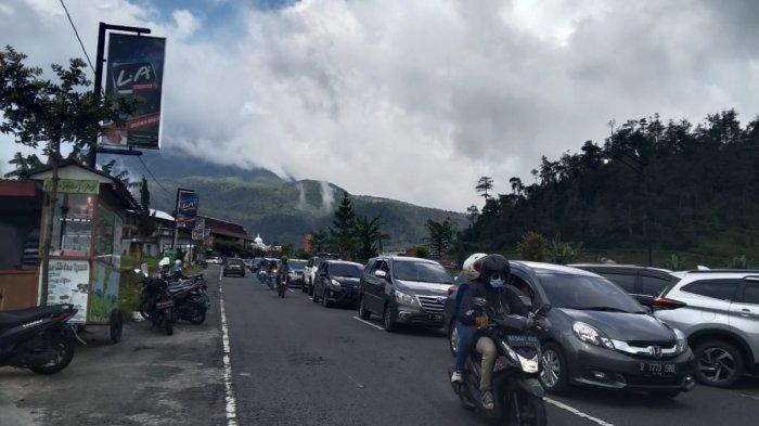 Wisatawan Mulai Berdatangan di Tawangmangu Karanganyar : Meningkat Hingga 60-70 persen