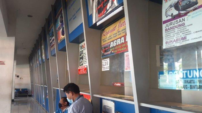 Nelangsa, Penjual Tiket AKAP di Terminal Tirtonadi Solo Harus Libur, Ada Aturan Larangan Mudik