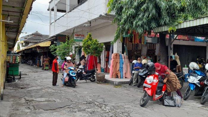 Suasana Pasar Kota Sragen