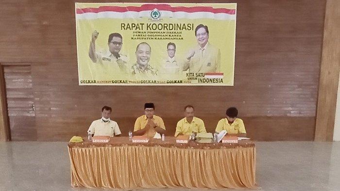 Resmi Dilantik Jadi Ketua Golkar Karanganyar, Ilyas Akbar Tancap Gas, Target 17 Kursi di Pileg 2024