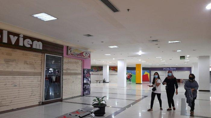 Kisah Pelaksanaan Program Jateng di Rumah Saja, Mall di Kota Solo Sepi Kehilangan Pembeli