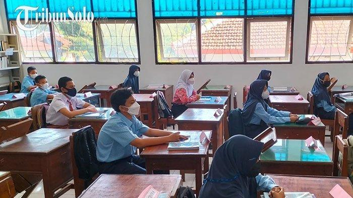 Di Daerah Lain Rebutan, Tapi di Karanganyar Baru Satu Sekolah Mengajukan Pembelajaran Tatap Muka