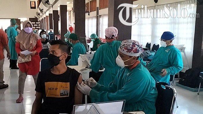 Jadwal Vaksinasi Covid-19 di Klaten : Besar-besaran Dosis untuk Dua Ribu Orang di Gedung Al Hakim