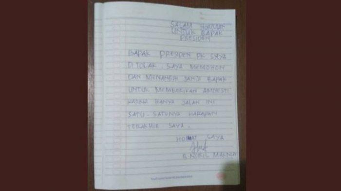 Baiq Nuril Kirim Surat untuk Jokowi Setelah PK Ditolak MA, Begini Isi Lengkapnya
