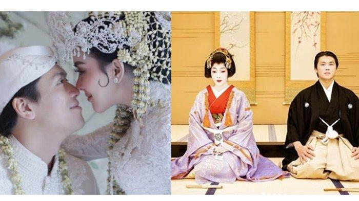 Rayakan 2 Tahun Pernikahan, Syahrini dan Reino Barack Berdandan Jadi Pengantin Tradisional Jepang