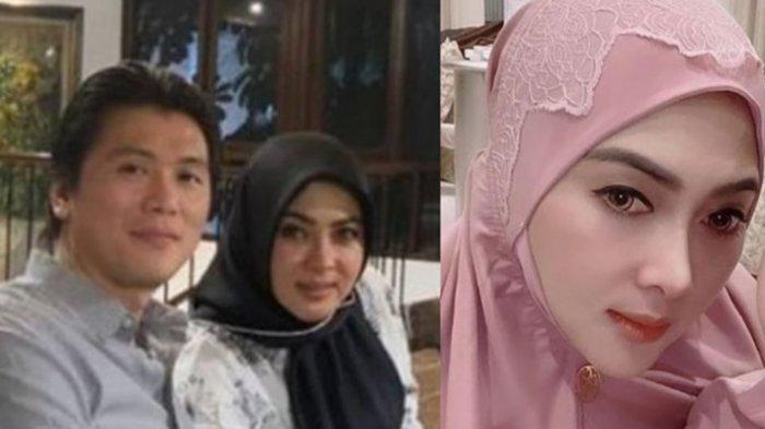 Intip Foto-foto Penampilan Syahrini dan Reino Barack Hadiri Acara Bukber Keluarga Renny Sutiyoso