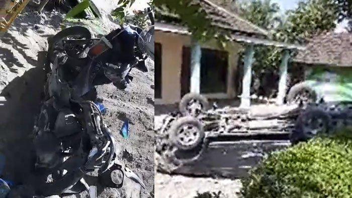 Tabrakan Mengerikan Mobil vs Pengendara Ojol di Wonogiri, Body Honda Beat Sampai Tak Berbentuk Lagi