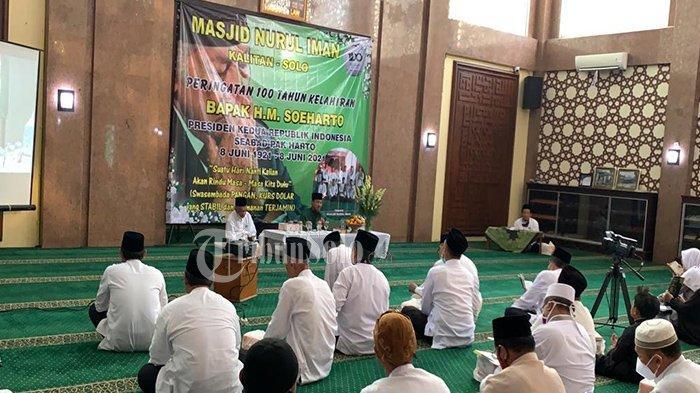 Kenang 100 Tahun Soeharto, Keluarga Cendana Gelar Tahlilan & Doa di Masjid Nurul Iman Kalitan Solo