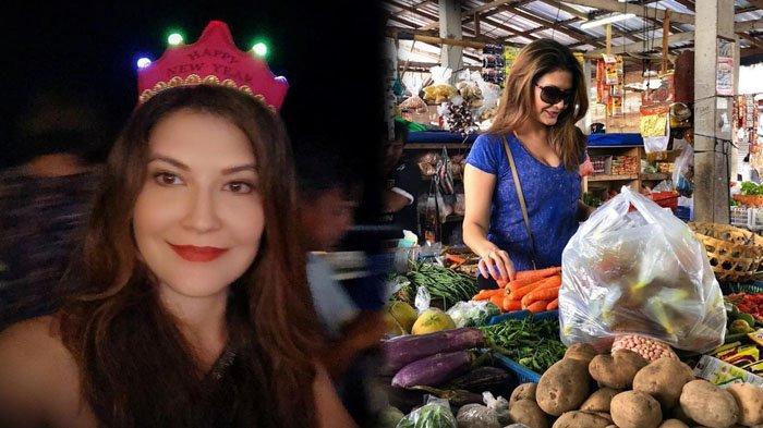 Artis Senior yang Miliki Paras Cantik Ini Tak Segan Makan di Warteg dan Belanja di Pasar Tradisional