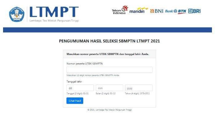 Cara Mencetak Sertifikat SBMPTN 2021 hingga Mengecek Skor UTBK, Simak Tahapannya Berikut Ini