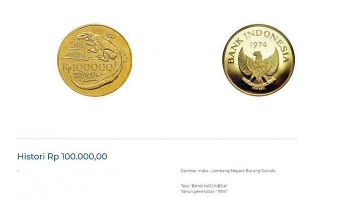 Viral Uang Logam Rp100.000 dari Emas, Kini Diburu Kolektor karena Harga Mahal, Ini Keistimewaannya