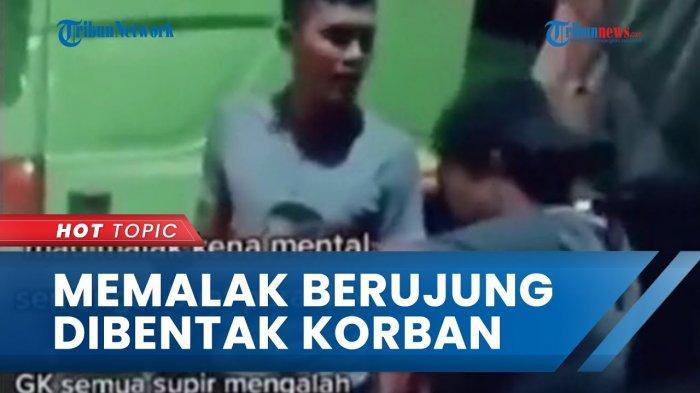 Viral Preman Palak Sopir Truk di Lampung, Pelaku Langsung Ciut Ternyata Korban Lebih Galak