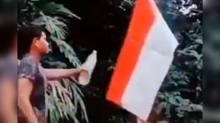 DIBURU: Pembakar Bendera Merah Putih yang Viral di TikTok, Pelaku Tutup Akun, KBRI Gandeng Malaysia