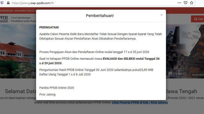 Pendaftaran PPDB Online SMA/SMK Ditutup Saat Pandemi, Ini 3 Catatan Cabang Disdik Wilayah VII Solo