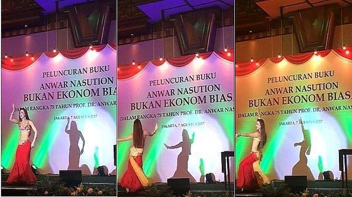 Videonya Viral, Begini Respons Menteri PUPR saat Disuguhi Tarian Perut di Acara Peluncuran Buku